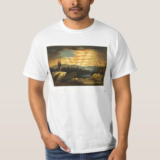 Our Heaven Born Banner by William Bauly T-Shirt