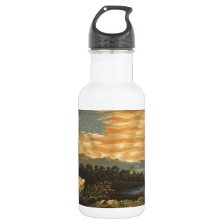 Our Heaven Born Banner Stainless Steel Water Bottle