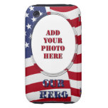 Our Hero - Add Your Photo Tough iPhone 3 Cover