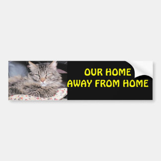 Our Home Away From Home RV Bumper Sticker