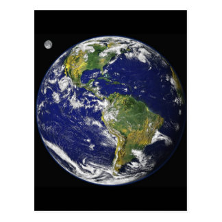 Our Home - Earth Postcard