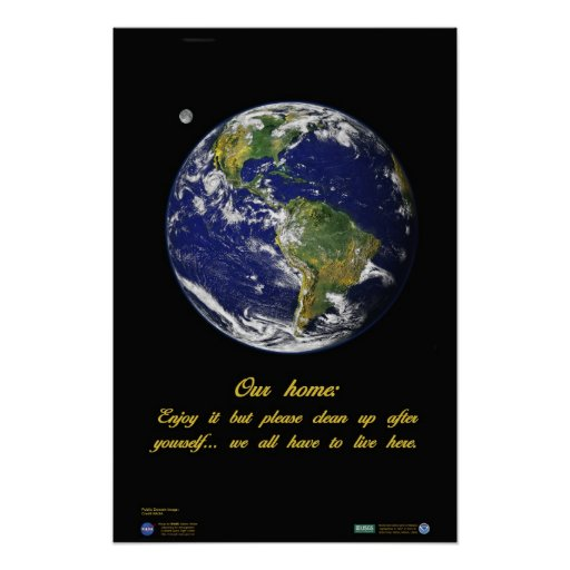 Our Home, Earth Poster