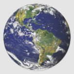 Our Home - Earth Round Sticker