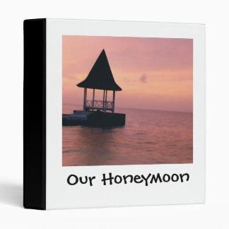 Our Honeymoon Photos 3 Ring Binder