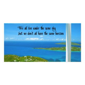 Our Horizon Photo Card
