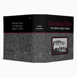 """Our House Book (2"""") Binder"""