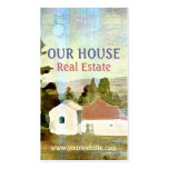 Our House Real Estate Business Card