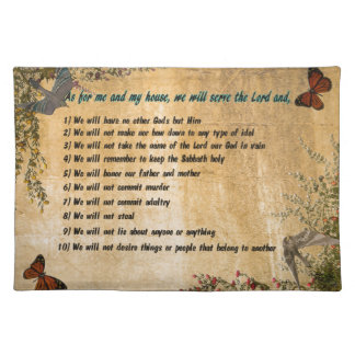 Our House Rules Cloth Placemat