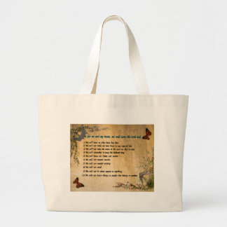 Our House Rules Large Tote Bag