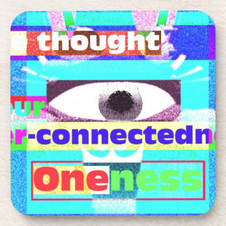 Our intrinsic inter-connectedness Oneness Drink Coasters