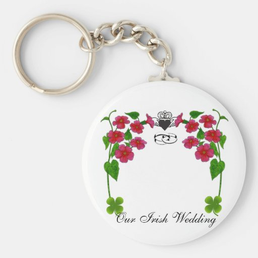 Our irish wedding, key chain