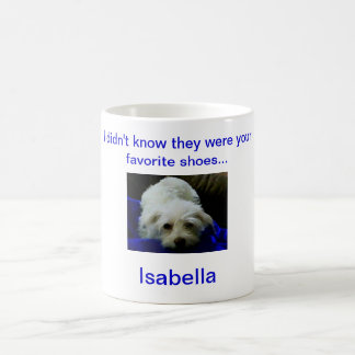 Our Isabella Classic White Coffee Mug