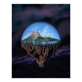 Our Island Earth Print
