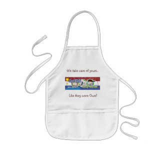 Our Kid's Family Daycare Kids' Apron