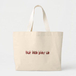 our kids play us large tote bag