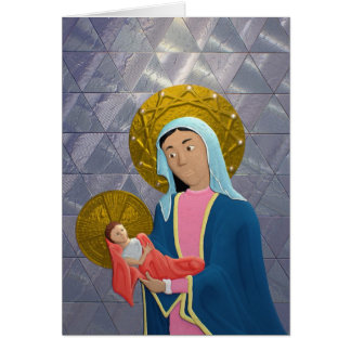 Our Lady and Child Card