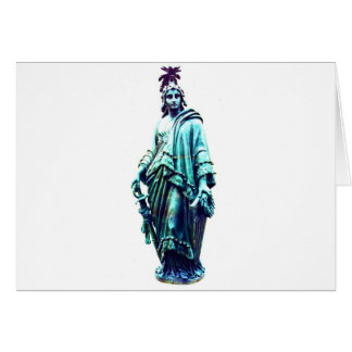 Our Lady Freedom Card