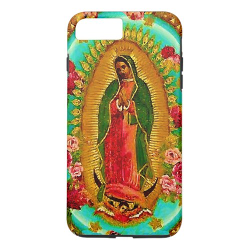 Our Lady Guadalupe Mexican Saint Virgin Mary Phone Case