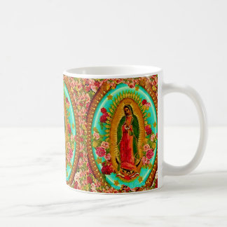 Our Lady Guadalupe Mexican Saint Virgin Mary Coffee Mug