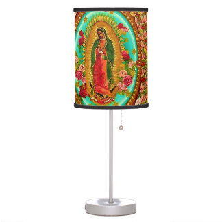Our Lady Guadalupe Mexican Saint Virgin Mary Desk Lamp