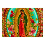 Our Lady Guadalupe Mexican Saint Virgin Mary Large Business Cards (Pack Of 100)