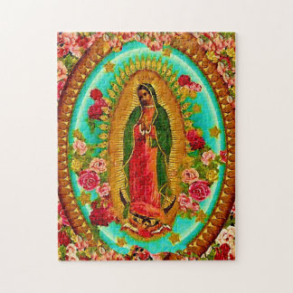 Our Lady Guadalupe Mexican Saint Virgin Mary Puzzle
