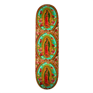 Our Lady Guadalupe Mexican Saint Virgin Mary Skateboard Deck