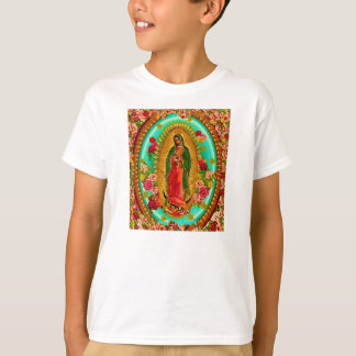 Our Lady Guadalupe Mexican Saint Virgin Mary T-Shirt