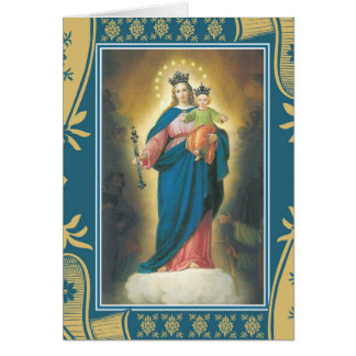 Our Lady Help of Christians Mass Offering Memorial Card