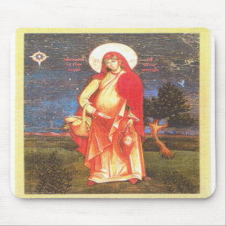 our lady mousepad