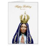 Our Lady of Aparecida Tarjeta De Felicitación