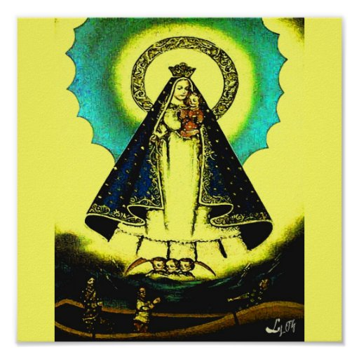 our lady of charity poster