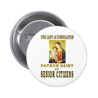OUR LADY of CONSOLATION 2 Inch Round Button