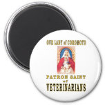 OUR LADY of COROMOTO 2 Inch Round Magnet