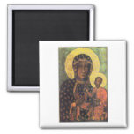 Our Lady of Czestochowa 2 Inch Square Magnet
