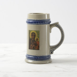 Our Lady of Czestochowa Beer Stein