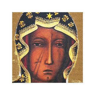 Our Lady of Czestochowa Canvas Print