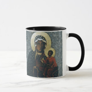Our Lady of Czestochowa Devotional Image, Mug
