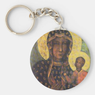Our Lady of Czestochowa Keychain