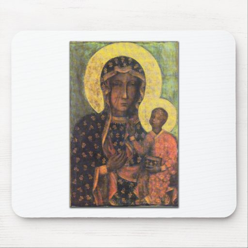Our Lady of Czestochowa Mouse Mats