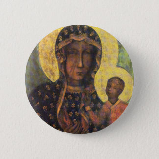 Our Lady of Czestochowa Pinback Button