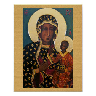 Our Lady of Czestochowa Poster