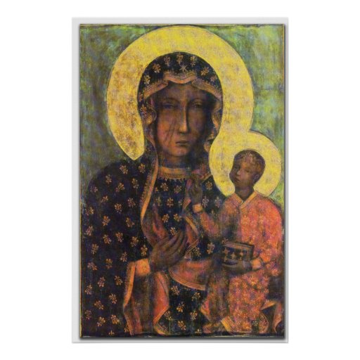 Our Lady of Czestochowa Prints Poster