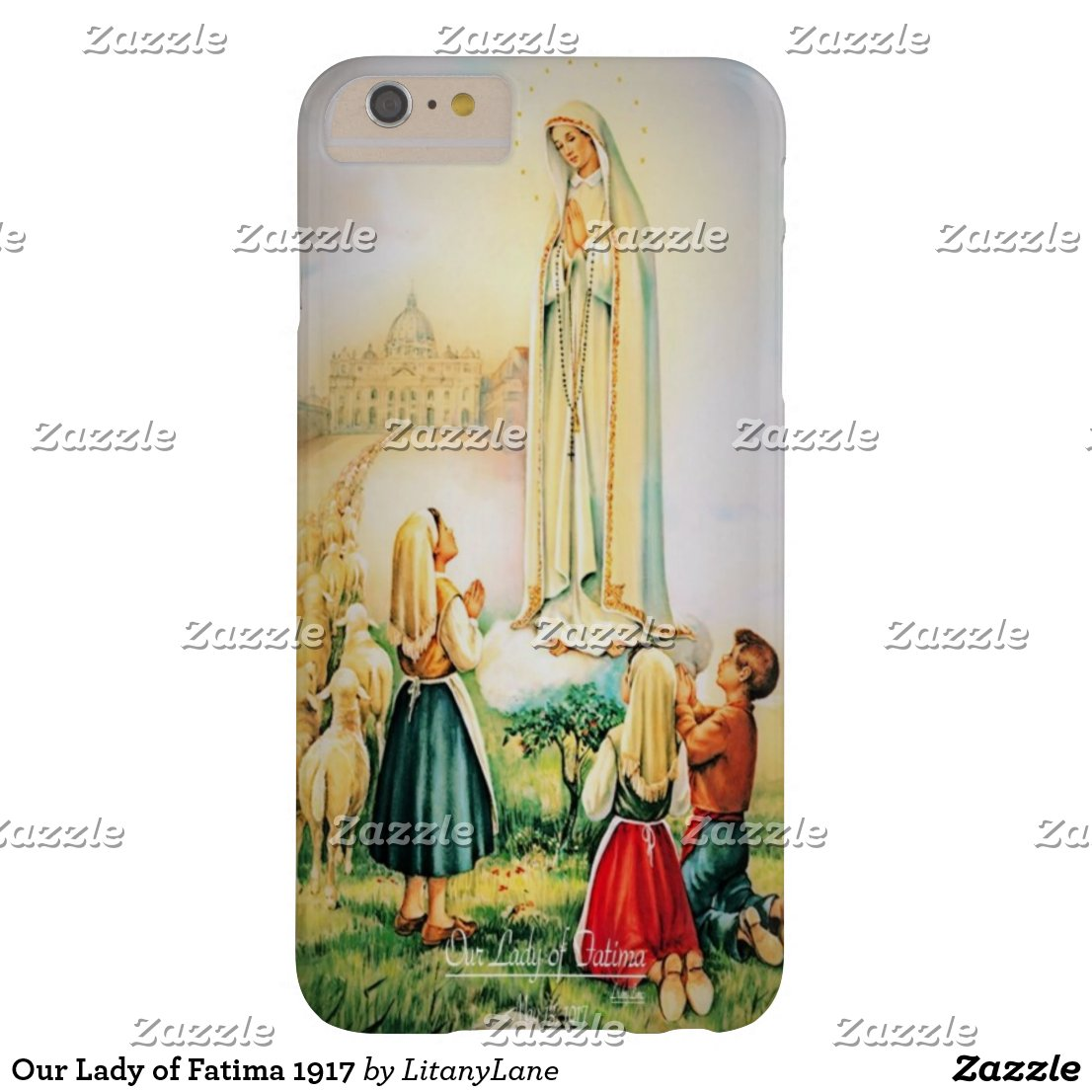 Our Lady of Fatima 1917 Barely There iPhone 6 Plus Case