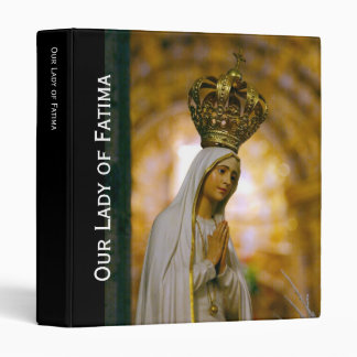 Our Lady of Fatima 3 Ring Binder
