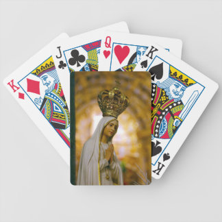 Our Lady of Fatima Bicycle Playing Cards