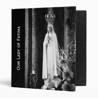 Our Lady of Fatima Binder