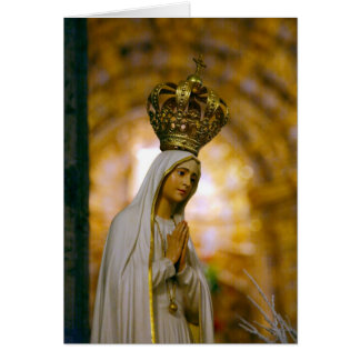 Our Lady of Fatima Card