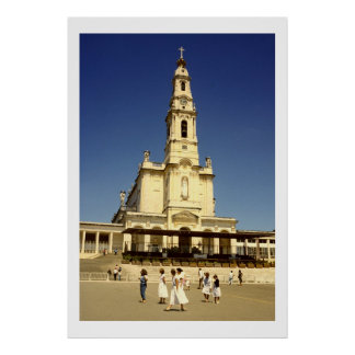 Our Lady of Fatima Church Lisbon Portugal Posters