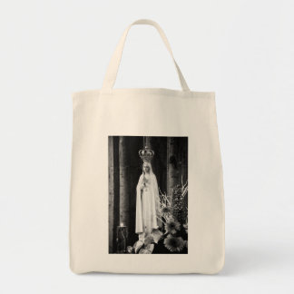 Our Lady of Fatima Grocery Tote Bag